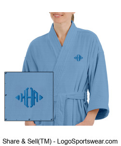 Luxury Spa Waffle Robe Design Zoom