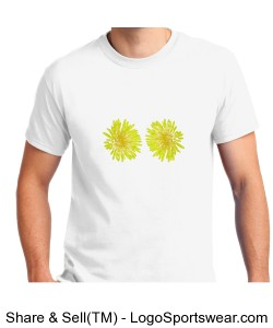 Flowers T-Shirt Design Zoom
