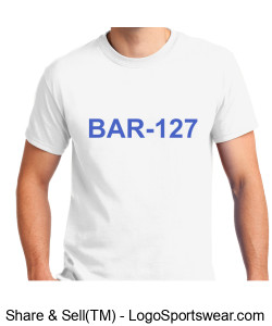 BAR-127 T-shirt Design Zoom