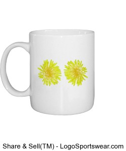 Flowers Mug Design Zoom
